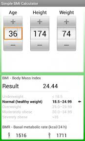 Basal Metabolic Rate Bmr Chart Simple Bmi Bmr Calculator 1 4 Free Download