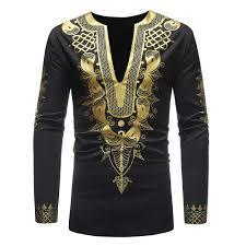 African Top Chart Amazon Com Dashiki Shirt African Top Clothing Kaftan Long