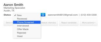 How To Manage Candidates On Indeed Indeed Blog