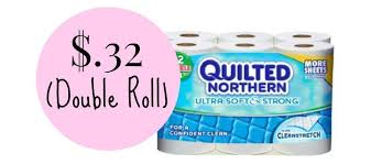 Quilted Northern Ultra Soft & Strong $.32 per Double Roll & Target: Quilted Northern Ultra Soft & Strong $.32 per Double Roll Adamdwight.com