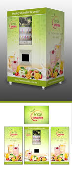 Smoothie Vending Machine Magnificent Create An Eyecatching Design For Our Smoothie Vending Machine By