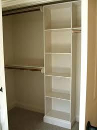 storage closets with shelves build closet shelves plywood organizer storage closets with shelves creative of closet