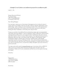 Addressing Cover Letters Address A Cover Letter Salutation Cover
