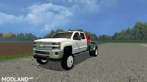 Chevy Silverado 3500 Flatbed mod for Farming Simulator 2015 / 15 ...