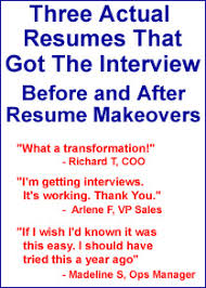 Update Your Resumes Update Your Resume