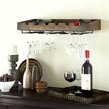 wine glass rack pottery barn. Wine Rack: Diy Wood Wall Mounted Rack Solid Glass Pottery Barn O