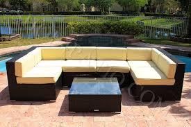 image modern wicker patio furniture. AKOYA Wicker Collection. 7 Piece Modern Outdoor Patio Furniture Image Modern Wicker Patio Furniture O