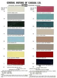 Par Paint Colour Chart Gm Interior Color Code 922 Paint