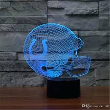 dallas cowboy light whole seven colors changing cowboys light visual led night light novelty cowboys table