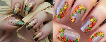 nail designs for fall 2014. two cute autumn nail art designs for fall 2014 t