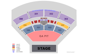 Irving Music Factory Seating Chart The Pavilion At Toyota Music Factory Irving Tickets