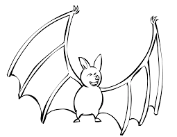 Small Picture Adult bat color page Bats Coloring Pages Free Big Brown Bat Page