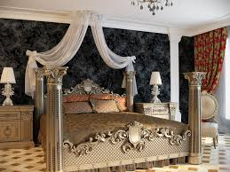 classic style interior design. Classicism Style In The Interior Of House: What To Pay Special Attention For. Bedroom Design Classic