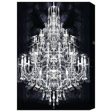 600x600 chandeliers chandelier canvas art chandelier canvas wall art black and white chandelier painting