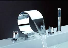 marvelous waterfall bathtub faucet faucet waterfall bathroom sink faucet brushed nickel
