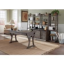 home office set. stone brook rustic saddle home office set i