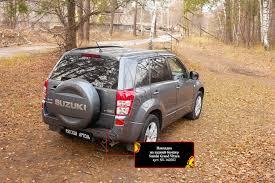 <b>Накладка на задний бампер</b> для Suzuki Grand Vitara 2008-2012 ...