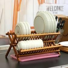 wood dish rack totally bamboo compact dish rack wooden dish drying rack nz