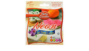 Betty Crocker Gel Food Color Blending Chart Amazon Com Betty Crocker Neon Gel Food Color 2 7000