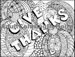 Kleurplaat Pagina Geven Bedankt Digitale Download Etsy