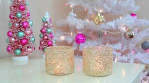 Diy Christmas Decorations Diy Christmas Winter Room Decor Frosty Glitter Jars Youtube