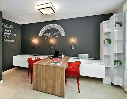 home office wall color ideas. Office Paint Ideas View In Gallery Orange Red Chairs Enliven The Home Design Business Wall Color I