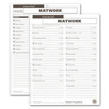workout sheets shop pilates fitness client workout sheets merrithew