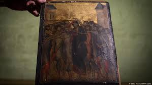 rare cimabue painting discovered above