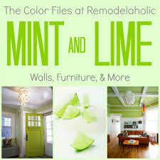mint lime green