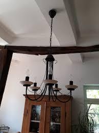 Kronleuchter Lüster Deckenlampe Braun