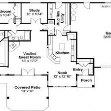 4 Bedroom Modular Home Floor Plans 4 Bedroom Ranch Style