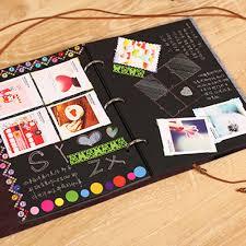 Us 7 14 24 Off Felt Cover Photo Album 30 Black Sheets Scrapbook Album Diy Handmade Family Memory Record Photoalbum Home Decor Party Favors In Photo
