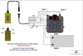 how to wire hydraulic power pack power unit diagram design how to wire dc motor single acting power pack how to wire double acting circuit for power