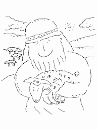 Small Picture Coloring Pages Of The Lost Sheep Coloring Home
