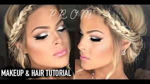 prom makeup and hair tutorial easy pretty valerie pac you
