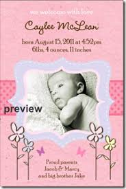 birth announcement templates new photo birth announcement templates