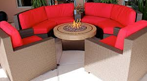 sophisticated patio furniture set with fire pit table new ideas gas from 11 patio furniture
