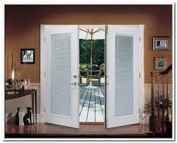 french patio doors with built in blinds darcylea design