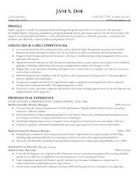 Management Resume Templates Business Management Resume Sample Objective Statement Mmventures Co