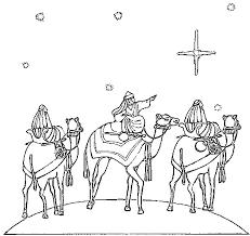Kleurplaat Drie Koningen 9