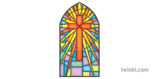 stained glass window church cathedral