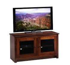 tv stands with glass doors