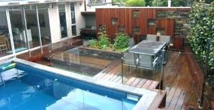 square above ground pool. Fascinating Backyard Landscaping Design With Various Above Ground Pool Square
