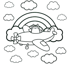 Pusheen Coloring Pages To Print Download This Coloring Page Print