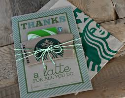 thanks a latte gift card holder by strawberry patches link to printable in post