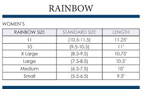Mens Rainbows Size Chart Rainbow Sandals Mens Size Chart Leather Sandals For Men