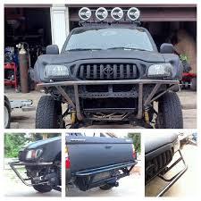 Toyota Tacoma 4 door front and rear tube bumpers. - Yelp