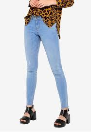 Jacqueline De Yong Size Chart Feline Skinny Low Jeans