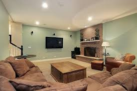 Gallery of Best Basement Family Room Images Collection Color Scheme Ideas