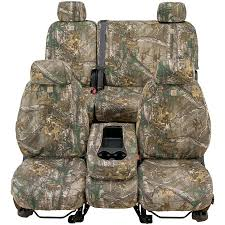 covercraft c59 sc3415caxb f250sd realtree camo seat covers front